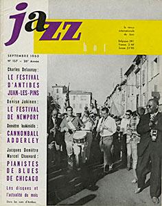 Jazz Hot n°157, septembre 1957, Premier Compte rendu