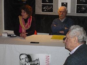 Nicole Bertold, Alain Tercinet et Jean-Louis Chautemps © Jérôme Partage