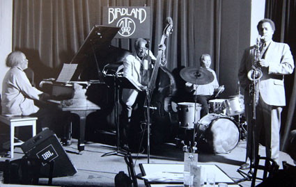 Jaki Byard, Milt Hinton, Ben Riley, Ricky Ford, Birdland 1991 © Jimmy Katz by courtesy