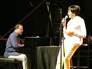 Eric Reed et Mary Stallings, Jazz à Foix 2014 © Jérôme Partage