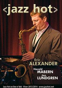 Jazz Hot n°666, Eric Alexander