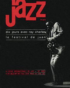 Jazz Hot n°178, Juillet-août 1962, le festival est annoncé en couverture