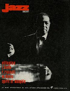 Jazz Hot n°255, son dernier numéro de rédacteur en chef