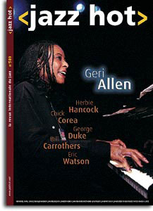 Geri Allen en couverture du Jazz Hot n°589, 2002
