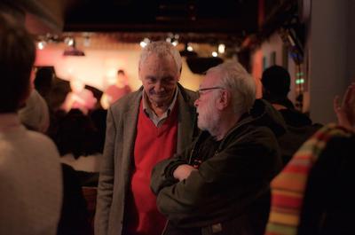 Jean-Louis Chautemps et François Tusques © Mathieu Perez