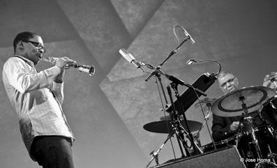 Ravi Coltrane et Jack DeJohnette © Jose Horna