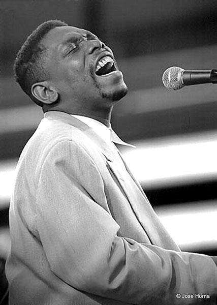 Lucky Peterson, Festival de Jazz de Vitoria-Gasteiz, 1998 © Jose Horna