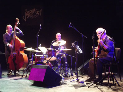 John Abercrombie Quartet © David Bouzaclou