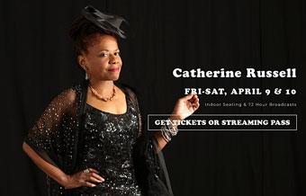Catherine Russell au Keystone Korner, 9-10 avril 2021