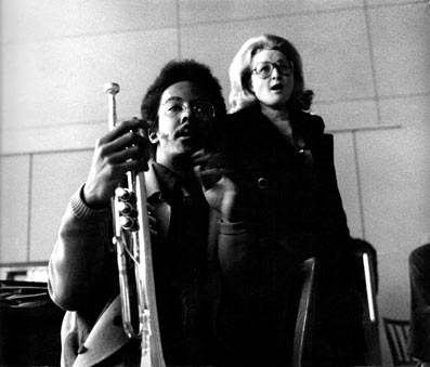Lester Bowie et Karin Krog © photo X, by courtesy of Karin Krog