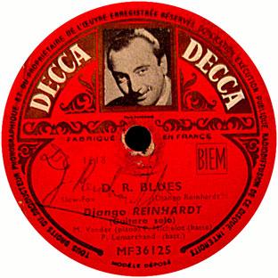 1953, Avec Django Reinhardt, Decca