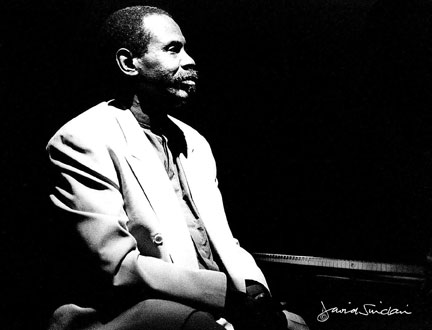 George Cables, at Ronnie scott's, London, 17 april 1997 © David Sinclair