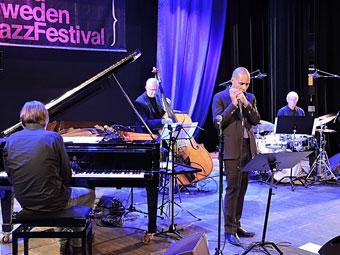 Jan Lundgren, Jesper Lundgaard, Grégoire Maret, Alex Riel © Jérôme Partage