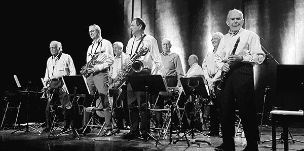 Claude Abadie et son Tentette, Jazz à Vian, Ville-d'Avray, 19 janvier 2020 © Alexandra Green