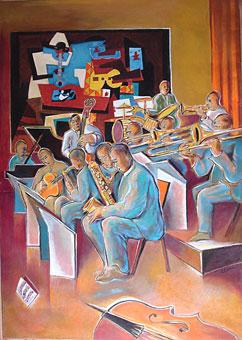 L'Orchestre par Clama