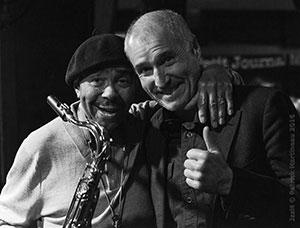 Benny Golson et André Robert © Patrick Martineau