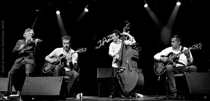 Didier Lockwood (vln), Adrien Moignard (g), Diego Imbert (b), Noé Reinhardt (g)