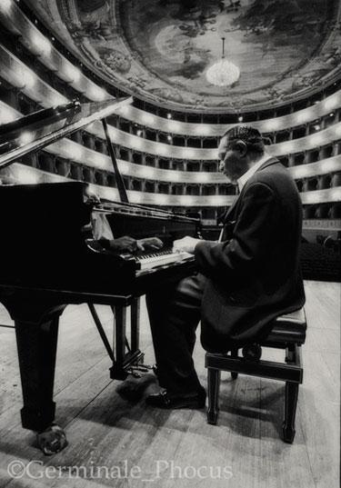 McCoy Tyner, Bergame 2003 © Umberto Germinale