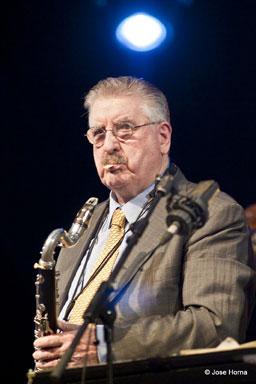 Joe Temperley à la clarinette basse