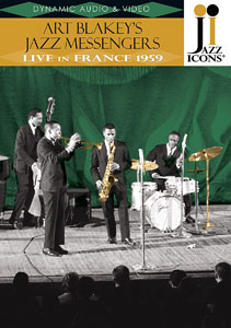 DVD 1959. Art Blakey's Jazz Messengers, Live in France 1959