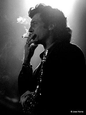 Jorge Pardo, Getxo Jazz 1995 © Jose Horna