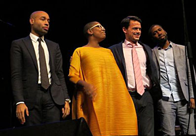 Aaron Diehl, Cécile McLorin-Salvant, Paul Sikivie, Lawrence Leathers © Sandra Miley