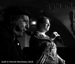 Renato d'Aiello et Rachel Gould © Patrick Martineau