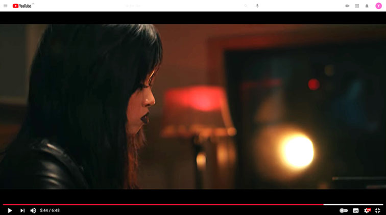Connie Han «Southern Rebellion» (CD Crime Zone, Mack Avenue) image extraite de la vidéo YouTube (cliquer sur l'image)