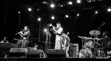 Christian Scott Group, Getxo Jazz 2017 © Jose Horna