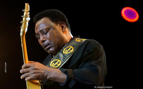 George Benson, Juan-les-Pins, 13 juillet 2019 © Jacques Lerognon, by courtesy