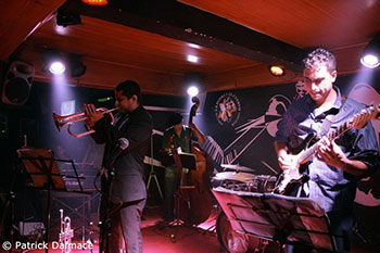 Yasek Manzano, Omar Gónzalez, Hector Quintana © Patrick Dalmace