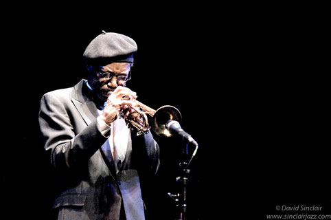 Charles Tolliver at Queen Elisabeth Hall, 19 novembre 2007 © David Sinclair