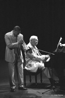 Wynton et Ellis Marsalis, Vitoria Jazz 2001 © Jose Horna