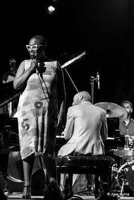 Cécile McLorin Salvant Quartet © Jose Horna