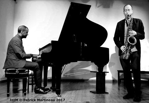 Danny Grissett et Jérôme Sabbagh © Patrick Martineau