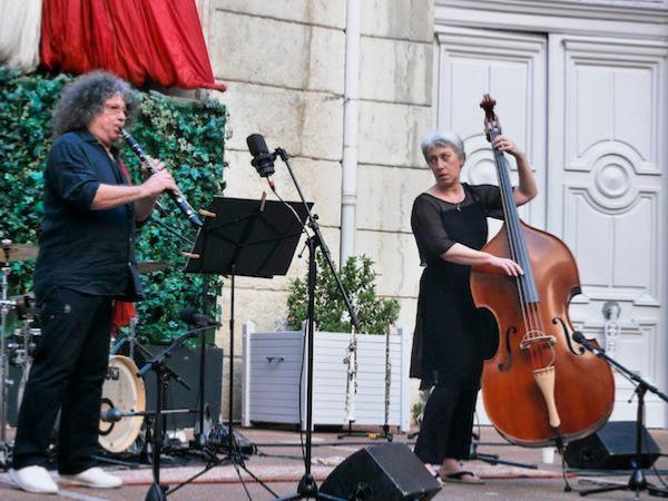 Sylvain Kassap (cl) et Hélène Labarrière (b), Lyon, 5 juin 2021 © Pascal Kober