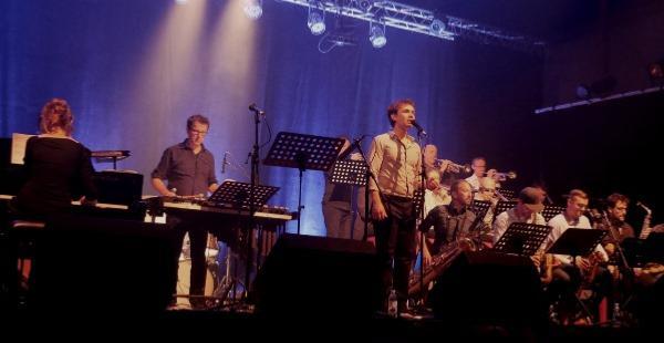 Loïs Le Van et le Big Band Jazz en Revermont © Serge Baudot