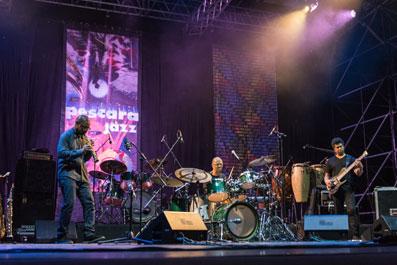 Ravi Coltrane, Jack DeJohnette, Matthew Garrison © Alessandra Freguja