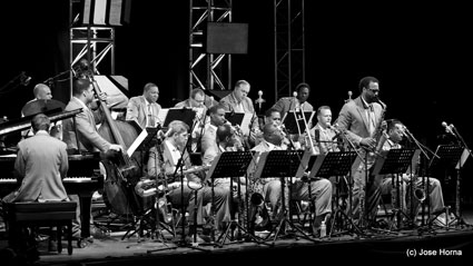 Lincoln Center Jazz Orchestra, Getxo Jazz, Espagne, 2013 © Jose Horna