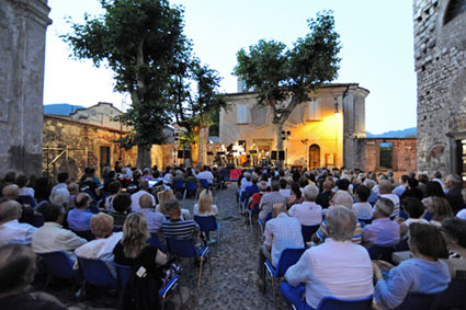La Casa del jazz italiano, Eglise paroissiale de Sant'Andrea © photo X by Courtesy of Iseo Jazz