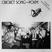 1982. Warren Smith & the Composers Workshop Ensemble, Cricket Song Poem