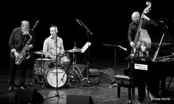 Leww Tabackin, Mario Gonzi, Darryl Hall, Toshiko Akiyoshi, Festival de San Sebastian 2014 ©Jose Horna