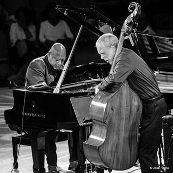 Kenny Barron et Dave Holland © Jose Horna