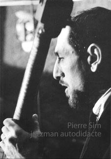 Jazzman autodidacte de Pierre Sim (couverture: Blue Note, Paris 1966)