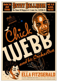 Chick Webb and His Orchestra, Ella Fitzgerald, Savoy Ballroom
