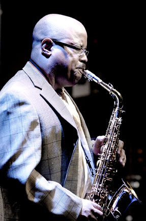 Justin Robinson at Ronnie Scott, 9 juillet 2007 © David Sinclair