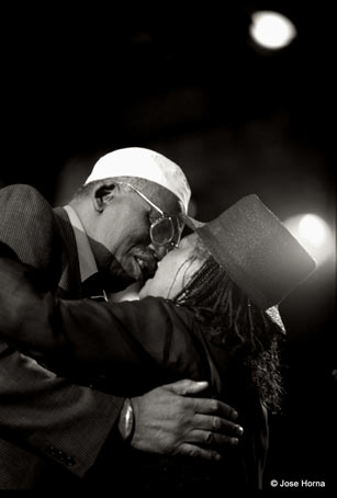 Randy Weston et Abbey Lincoln, San Sebastian 1998 © Jose Horna