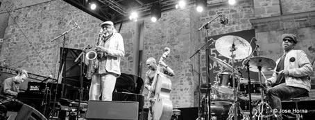 Charles Lloyd Quartet © Jose Horna