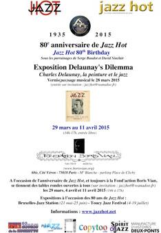 L'affiche des 80 ans de Jazz Hot
