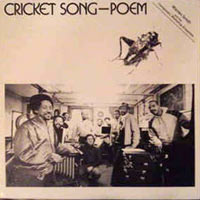 1982. Warren Smith, Cricket Song-Poem